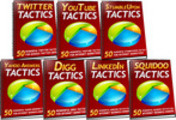 Thumbnail 350 Social Media Tactics ***MRR + Free Extra Bonus!***