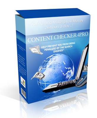 Product picture CONTENT CHECKER 4PRO ***MRR + Extra Free Bonus!***