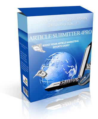 Product picture Article Submitter 4Pro **MRR + Free Extra Bonus included!**