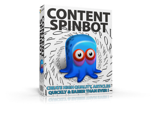 Product picture Content Spinbot ***MRR + Free Extra Bonus included!***