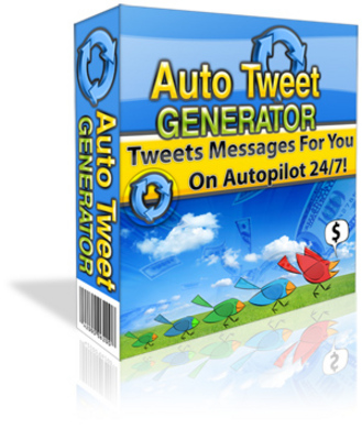 Product picture Auto Tweet Generator ***MRR + Free Extra Bonus included!***