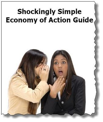 Product picture Shockingly Simple Economy of Action Guide *MRR + Free Bonus*